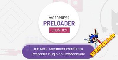 Wordpress Preloader Unlimited v4.1 - индикатор загрузки сайта для WordPress