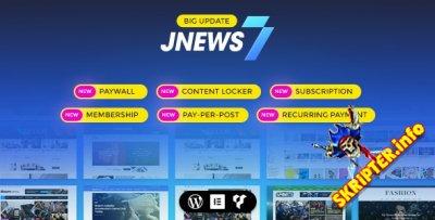 JNews v7.1.0 Nulled - тема WordPress для блогов, журналов, новостных сайтов
