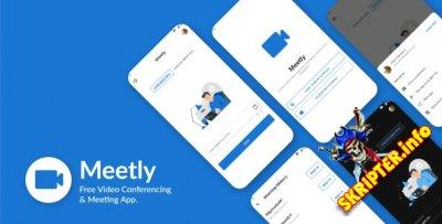 Meetly v1.10 - приложение для проведения видеоконференций
