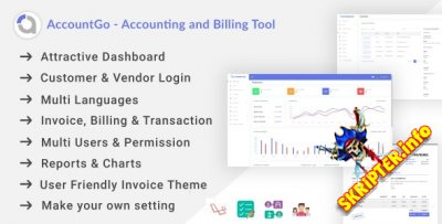 AccountGo v1.0 - скрипт учета и выставления счетов