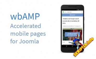 wbAMP v1.16.0 Rus - ускоритель мобильных страниц Joomla