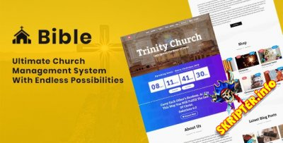 Bible v3.1 Nulled - cистема управления церковью
