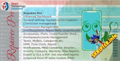 Repairer Pro v1.2 - система управления мастерской