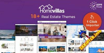 Home Villas v2.2 Nulled - шаблон недвижимости для WordPress