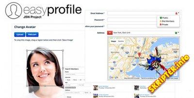 Easy Profile Pro v2.9.0 Rus - расширенный профиль пользователей для Joomla