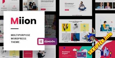 Miion v1.2.0 Nulled - многоцелевая тема для WordPress