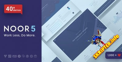 Noor v5.6.23 Nulled - многоцелевая премиум тема WordPress
