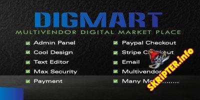 DigMart v3.7.0 - скрипт магазина цифровых товаров