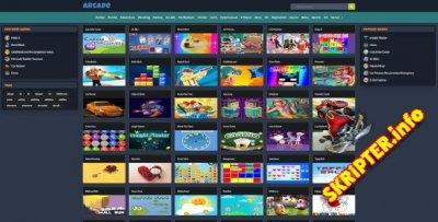 Mobile Responsive Arcade Site Script v1.6.0 - скрипт игрового портала