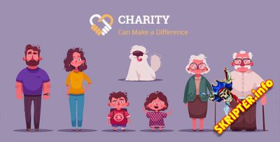 Charity v1.1 - скрипт благотворительного сайта