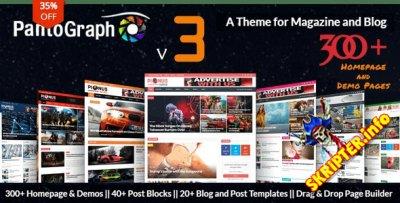 PantoGraph v3.6.3 - новостной шаблон для WordPress