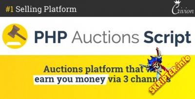 PHP Auctions Script v1.3 - скрипт аукционов
