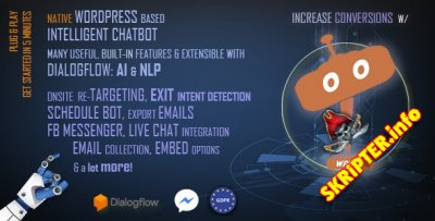 ChatBot Pro v10.2.4 Nulled - чат-бот для WordPress