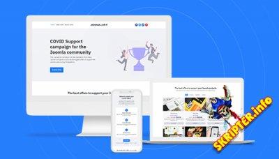 JA Campaign v1.0.0 - шаблон Joomla для веб-сайта кампании