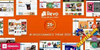 Revo v4.0.3 Nulled - многоцелевая тема для WordPress