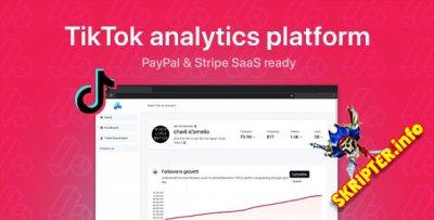 phpStatistics v1.3.1 Nulled - платформа TikTok аналитики