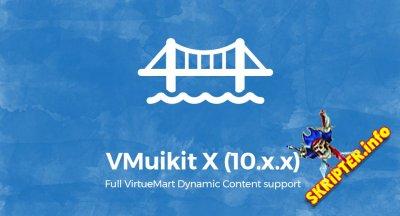 VMuikit X v10.5 - компонент совместимости Virtuemart и YOOtheme шаблонов