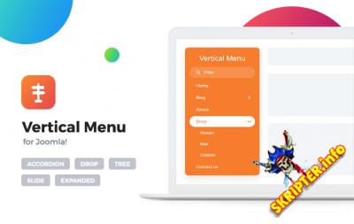 Offlajn Vertical Menu v4.0.278 - модуль меню для Joomla