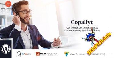 Copallyt v3.4 - WordPress тема для колл-центра и телемаркетинга