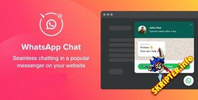 WhatsApp Chat v1.2.0 Rus - WhatsApp чат для WordPress