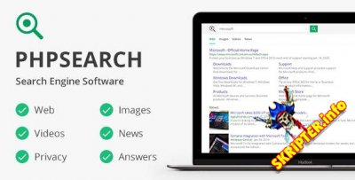 phpSearch v5.0.0 Nulled - скрипт поисковой системы