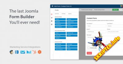 Convert Forms Pro v2.7.2 Rus - конструктор форм подписки для Joomla