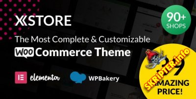 XStore v7.2.8 Rus Nulled – тема интернет-магазина для WordPress
