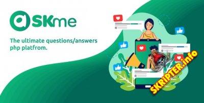 AskMe v1.1 Nulled - скрипт социальной сети вопросов и ответов
