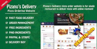 Pizano's Delivery v1.0 - скрипт заказа пиццы