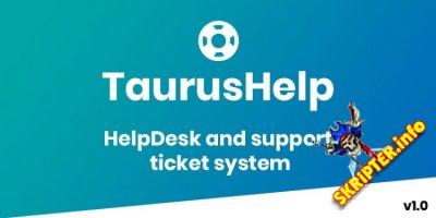 TaurusHelp v1.0 Nulled - система службы поддержки