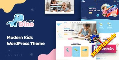 Littledino V1.1.9 - детская тема для WordPress