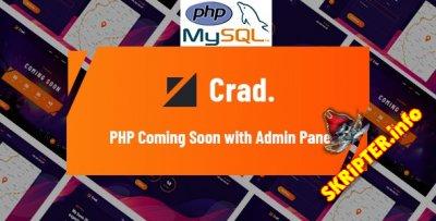 Crad v1.0.1 - скрипт обратного отсчета с панелью администратора