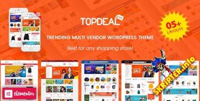 TopDeal v1.8.0 Nulled - шаблон интернет-магазина для WordPress
