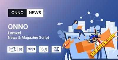 ONNO v1.0 - скрипт новостей и журнала