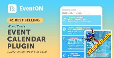 EventOn v3.0.5 Nulled - календарь событий для WordPress