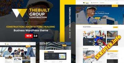 TheBuilt v2.2.2 Nulled - строительство и архитектура WordPress тема