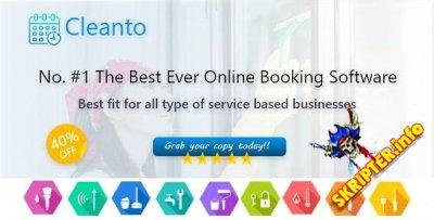 Cleanto v6.5 - скртит онлайн-бронированиями для горничных и клининговых компаний