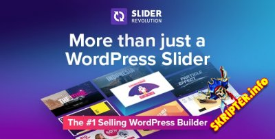 Slider Revolution v6.4.6 Nulled - слайдер для WordPress