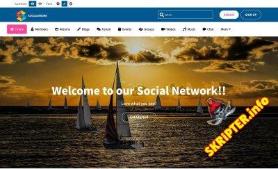Social Engine v5.3.1 Rus Nulled - скрипт социальной сети