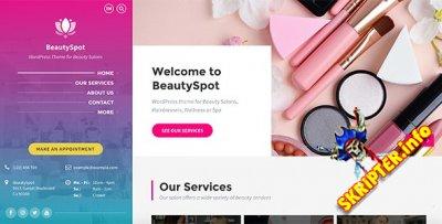 BeautySpot v3.3.9 - WordPress тема для салона красоты