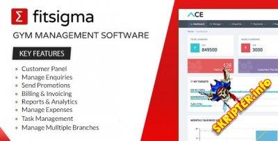 Fitsigma v1.2.8 - скрипт управления тренажерным залом