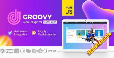 Groovy Mega Menu v2.4.1 Rus Nulled – плагин мега-меню для WordPress