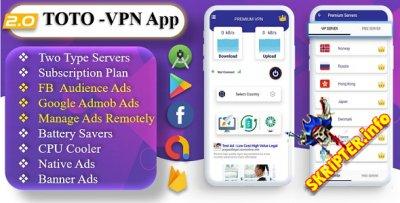 ТОТО v2.0 - VPN-приложение для Android