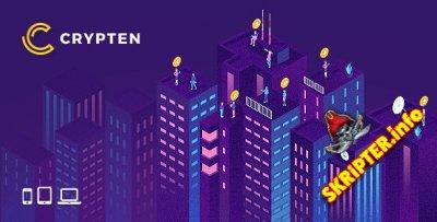 Crypten v1.0 - HTML-шаблон для сайтов криптовалюты и ICO