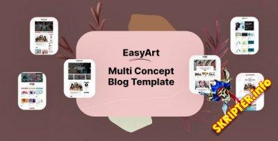 Easyart v1.0 - HTML-шаблон блога