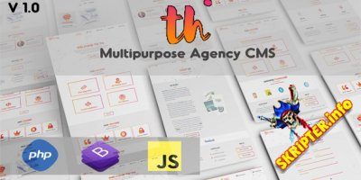 TH-Corporate Multipurpose Agency CMS v1.0 Nulled - CMS бизнес-сайтов
