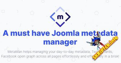 MetaMan v1.0.10 - управление метаданными для Joomla