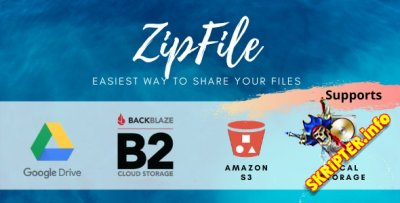 ZipFile v2.6 - скрипт обмена файлами
