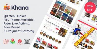 Khana v3.2 - мульти-ресторанная система