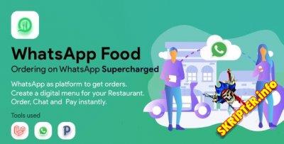 WhatsApp Food v2.1.0 - платформа для заказов через WhatsApp